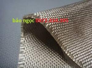 Vải bạt chống cháy 550 độ sợi thủy tinh ( 1 mét x 10 mét)