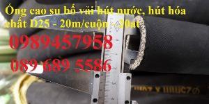 2021-05-12 10:28:25 Ống cao su bố vải 60, 76, 80, 100, 110, 150 33,000