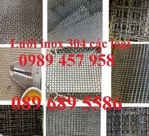 2021-05-12 11:15:04  2  Lưới Inox đan 3x3, 5x5, 10x10, 12x12, 20x20, 30x30, 50x50 80,000