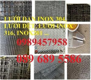 2021-05-12 11:15:04  1  Lưới Inox đan 3x3, 5x5, 10x10, 12x12, 20x20, 30x30, 50x50 80,000
