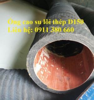 2021-05-12 14:00:10 Ống cao su lõi thép D150 hút nước, hút cát- Nhật Minh Hiếu 350,000