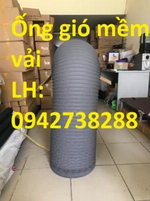 Ống gió mềm vải D100 giá ưu đãi tại Hà Nội, giao hàng toàn quốc