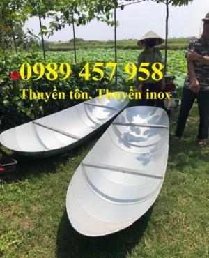 Cung cấp thuyền inox, Thuyền tôn, Thuyền câu cá cho 2-3 người