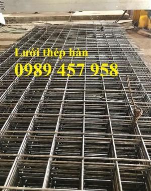 Lưới thép hàn tấm, Lưới thép hàn chập phi 6 a 200x200, Lưới thép phi 8 a 200x200