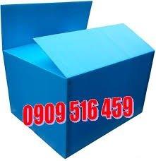 Thùng nhựa pp danpla,kích thước 600*500*400*4mm