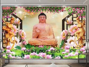 Tranh gạch Phật - tranh ốp tường