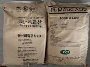 Bán DL MALIC ACID - C4H6O5 cấp thực phẩm