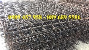 Lưới thép đổ bê tông, Thép hàn, Lưới thép hàn
