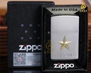 Bật lửa Zippo Z91 ngôi sao vàng