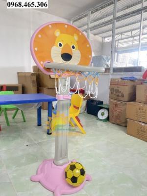 Trụ bóng rổ cho bé