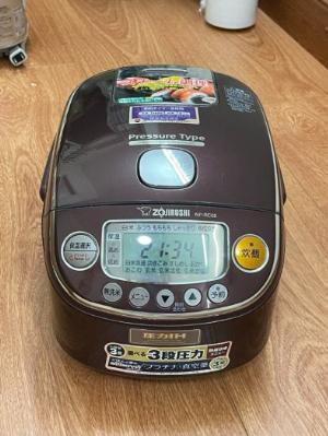 Nồi cơm điện cao tần nửa lít ZOJIRUSHI NP-RC05 0.5LIT ÁP SUẤT nấu gạo lứt