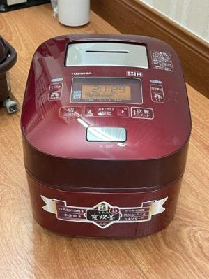 Nồi cơm điện TOSHIBA RC-10VXG 1lit xoong chuông áp suất hút chân không