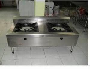 Bếp gá công nghiệp 2 họng Hải MInh HM 06