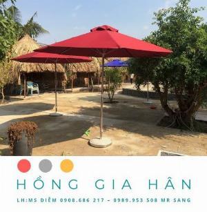 Dù Che Nắng Trang Trí Sân Vườn Hồng Gia Hân