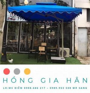 Xả Kho Dù Che Mưa Nắng_Trang Trí Sân Vườn Hồng Gia Hân