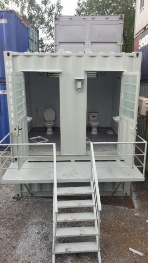 Bán và cho thuê container văn phòng, container kho, nhà vệ sinh sử dụng trong các công trường xây dựng