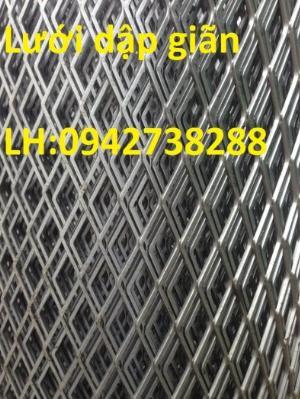 Báo giá lưới thép dập giãn mắt lưới 40x80 giá cạnh tranh