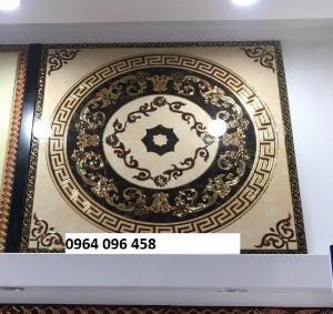 Tranh gạch thảm phòng khách mẫu sang trọng - SVB55