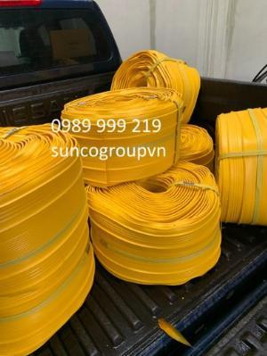 Cuộn nhựa vàng pvc,khớp nối pvc dùng nhiều trong mạch ngừng bê tông