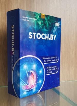 STOCH.BV - Giảm viêm loét dạ dày, tá tràng, trào ngược dạ dày, thực quản