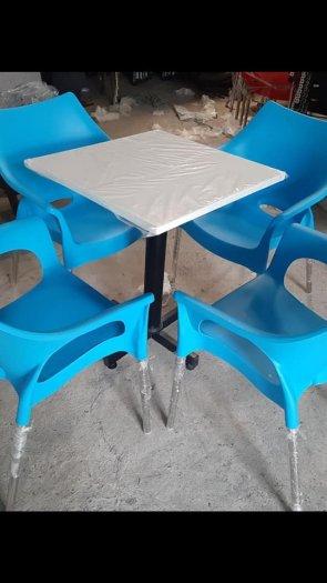 Bộ bàn ghế bàn mặt đá cao cấp