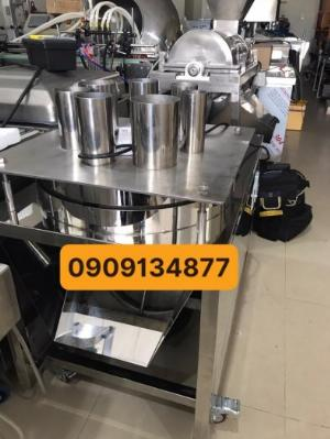 Máy cắt lát tròn quả dứa (khóm) tự động, máy thái lát cam chanh dạng tròn để sấy, máy thái lát củ sen, chuối, máy thái lát mỏng kiwi, táo