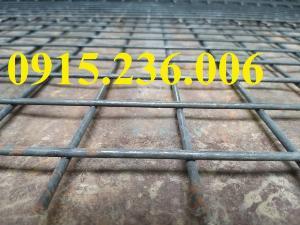 Lưới thép hàn, Lưới thép hàn phi 4 ô 50x50 mạ kẽm, hàng đen mới 100%