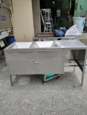 Bàn đổ cơm thừa inox 304 Hải Minh HM 10