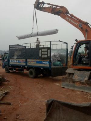 Cuộn bạt hdpe 0.75mm cuộn 250m2 k5x50m Nhựa Đen 2 Mặt lót bãi rác,hầm biogas Nhà Xưởng-Suncogroup 2021