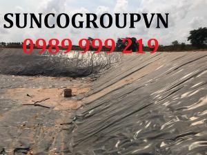 Vì sao nên dùng bạt HDPE chống thấm lót ao,be bờ,phủ mái-suncogroupvn