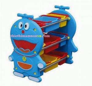 Kệ đựng đồ chơi siêu tiện lợi cho các bé nhỏ