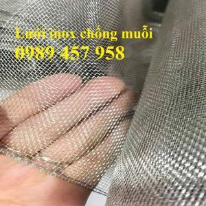 Lưới inox chống muỗi khổ 1,5mx30m, Lưới chống côn trùng inox316