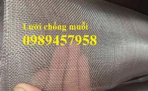 Lưới inox chống muỗi 1,5mx30m, Lưới chống côn trùng inox316