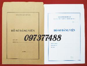 Phong bì đựng hồ sơ đảng viên