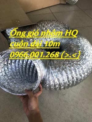 Cung cấp ống gió mềm nhôm Hàn Quốc , Trung Quốc phi 100,phi 125,phi 150,phi 200,phi 300 hàng sẵn