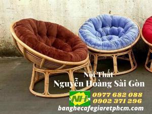 Ghế gỗ nệm thư giãn giá rẻ