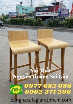 Ghế bar gỗ tự nhiên giá rẻ
