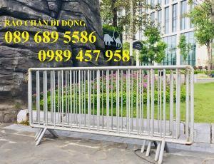 Gia công hàng rào cách ly, hàng rào barie có chốt, Hàng rào phân luồng giao thông
