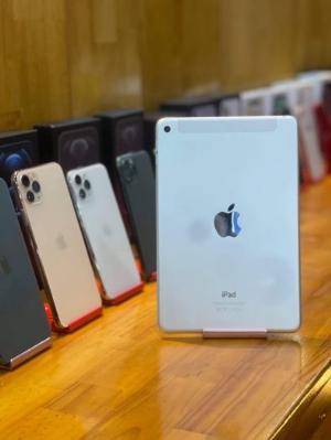 > iPad Mini 4 4G 16Gb_ Bạc_ Quốc tế_ Pin 100%