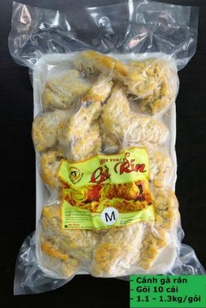 Sỉ cánh gà rán size 1.3 - 1.5 kg