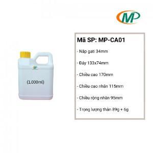 Can nhựa 1 Lít HDPE