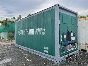 Container lạnh bảo quản thực phẩm loại 20feet