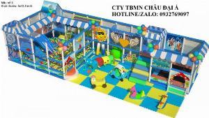 Khu liên hoàn giá rẻ- Thi công lắp đặt khu vui chơi