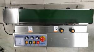 Máy hàn túi liên tục có in hạn sử dụng, máy hàn bao bì có đóng date FRD1000, máy ép bao cafe liên tục