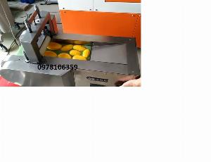 Máy thái hạt lựu thanh long, xoài, máy thái hạt lựu dạng băng tải JL660