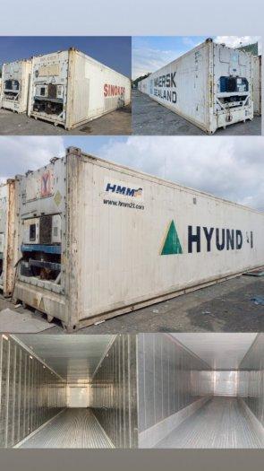 Container lạnh bảo quản hàng đông lạnh loại 40feet