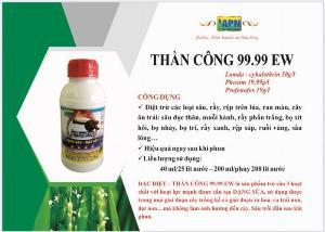 Thuốc diệt sâu rầy rệp THẦN CÔNG 99.99 EW