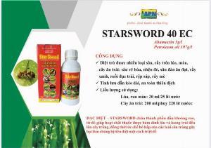 Thuốc trừ sâu rầy rệp nhện Starsword 40ec