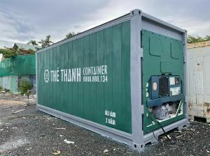 Container lạnh làm kho trữ đông