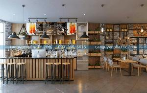 Quầy bar khác biệt mang nguồn cảm hứng nội thất tnp hcm